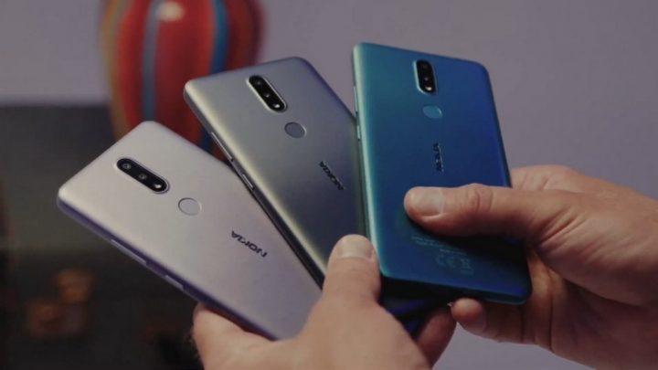 Opsi warna Nokia 2.4