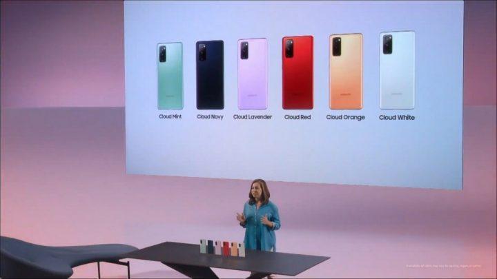 Acara perkenalan Samsung Galaxy S20 Fan Edition