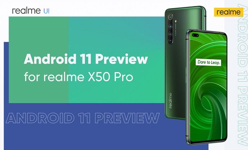 realme X50 Pro Android 11