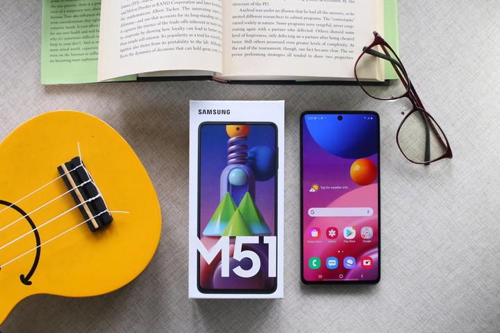 flash sale Galaxy M51