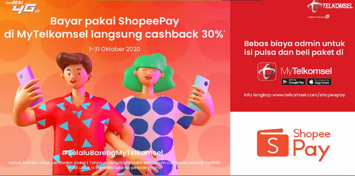 My Telkomsel Shopee Pay