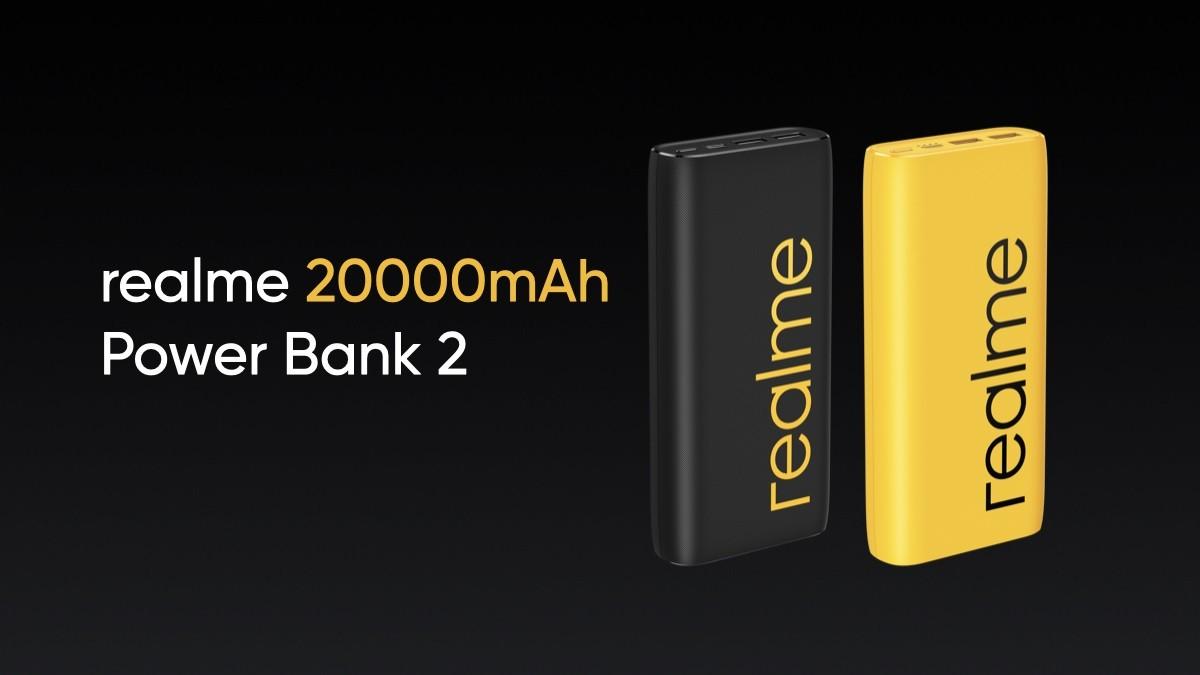 realme powerbank 20000mAh