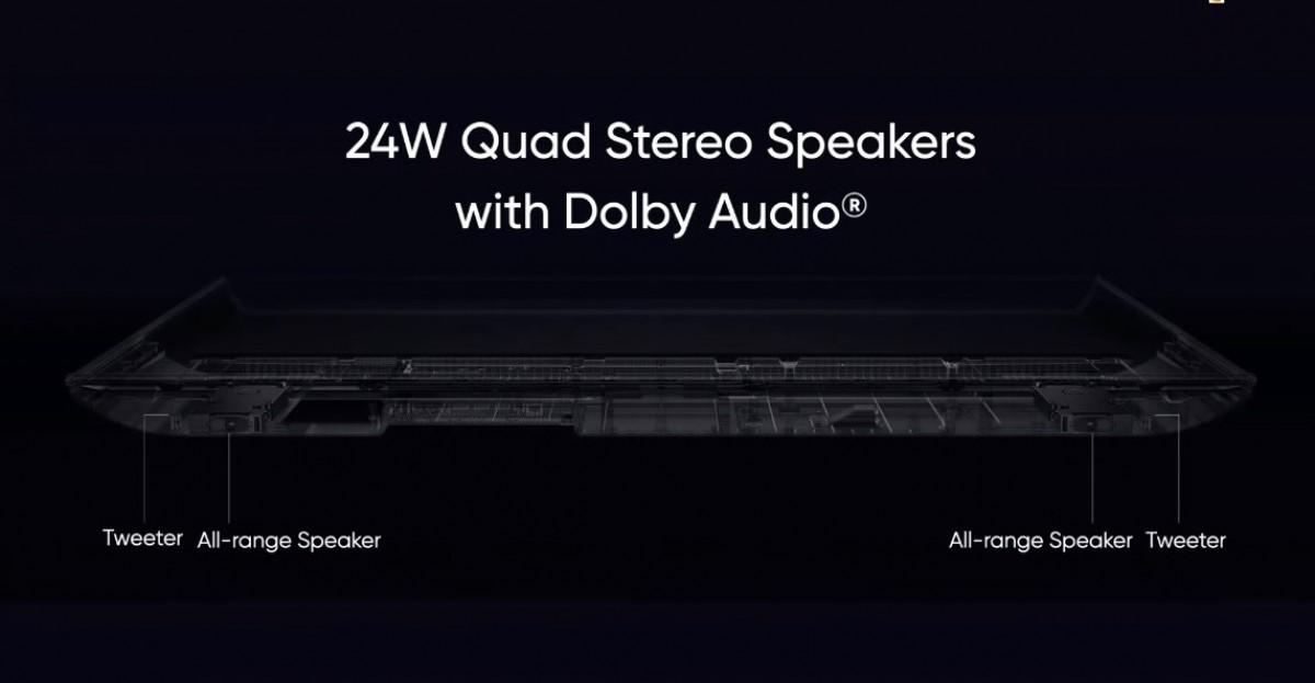 speaker realme TV SLED 4k