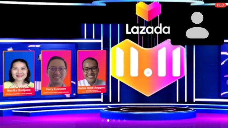 Foto Virtual Press Conference Lazada 11.11 – Diskon Belanja Terbesar Satu Hari e1604633771549