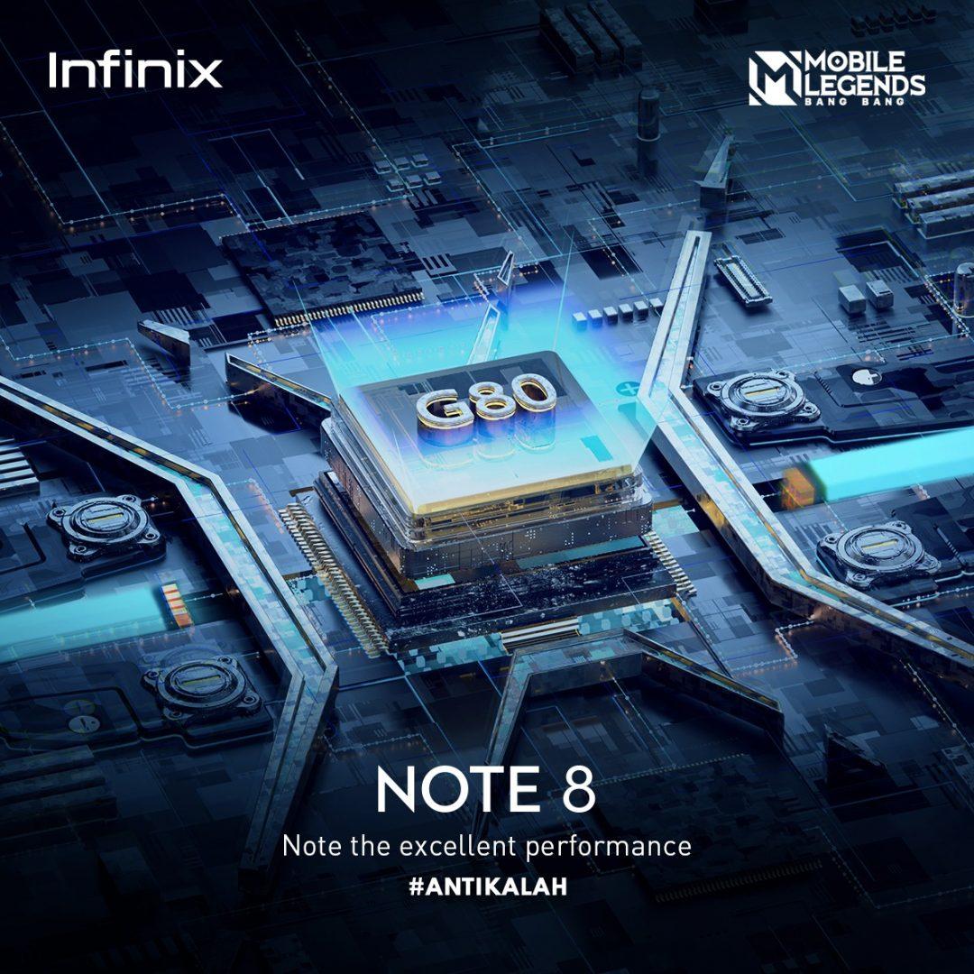 Infinix Note 8 Spesifikasi