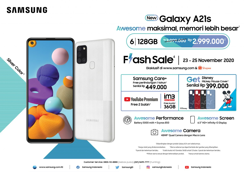 SMG GalaxyA21s Flash Sale