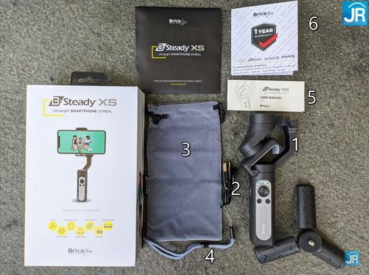 Review Brica B Steady XS