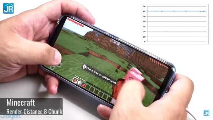 Minecraft 8 Chunk