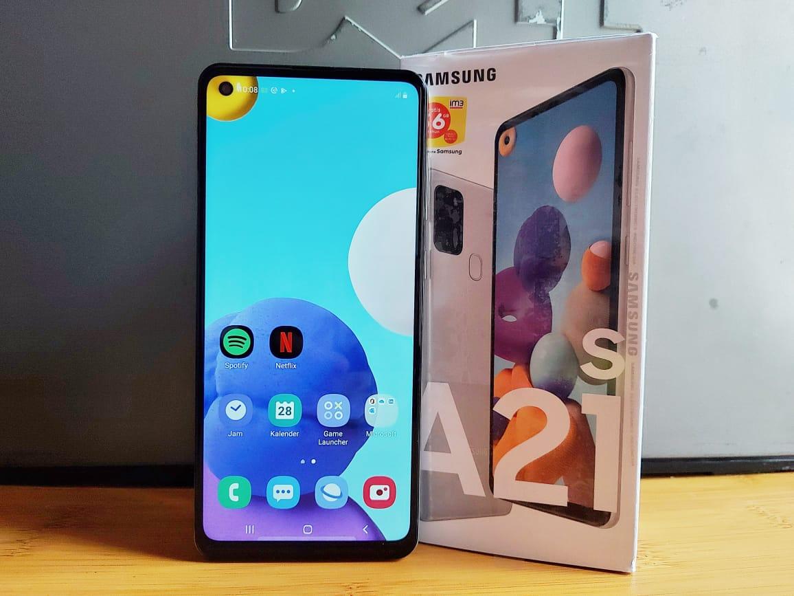 tips foto Produk dengan Galaxy A21s
