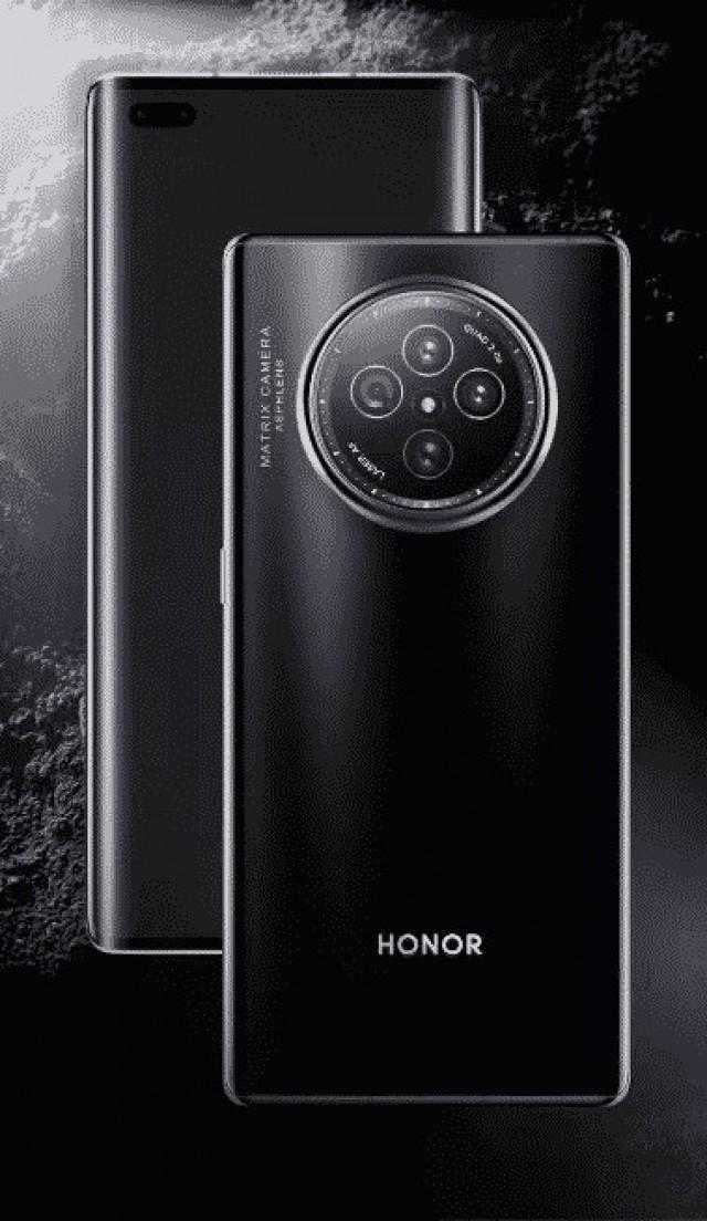 Honor V40 leak