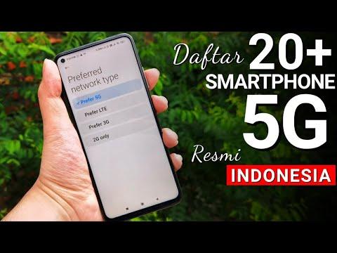 Smartphone 5G resmi Indonesia