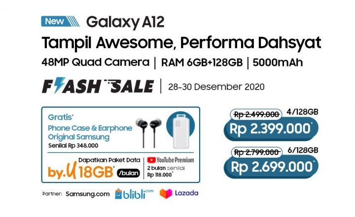 Samsung Galaxy A12 Harga dan Spesifikasi
