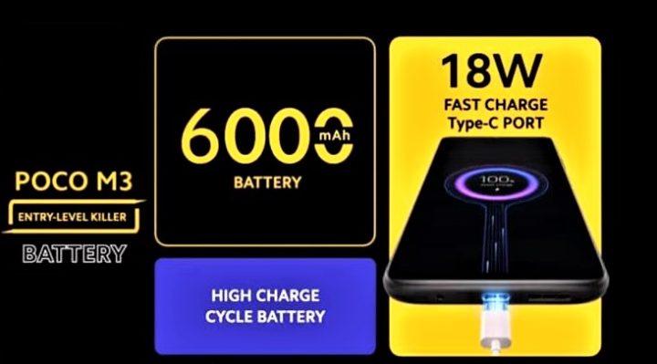 Baterai POCO m3