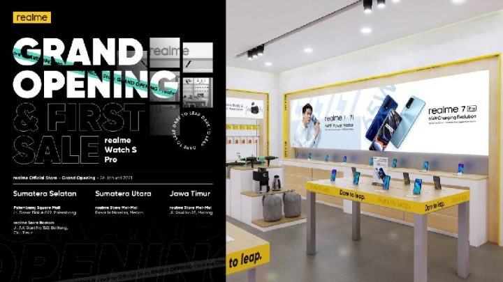 Grand Opening realme Official Store