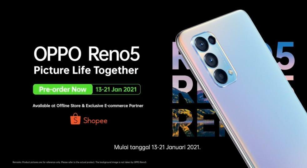 Harga Oppo Reno5