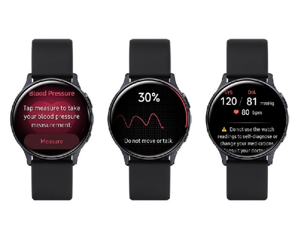 Blood Pressure Tracker Galaxy Watch