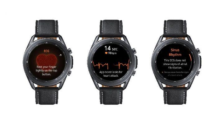 Blood Pressure Tracker Elektrokardiogram Galaxy Watch