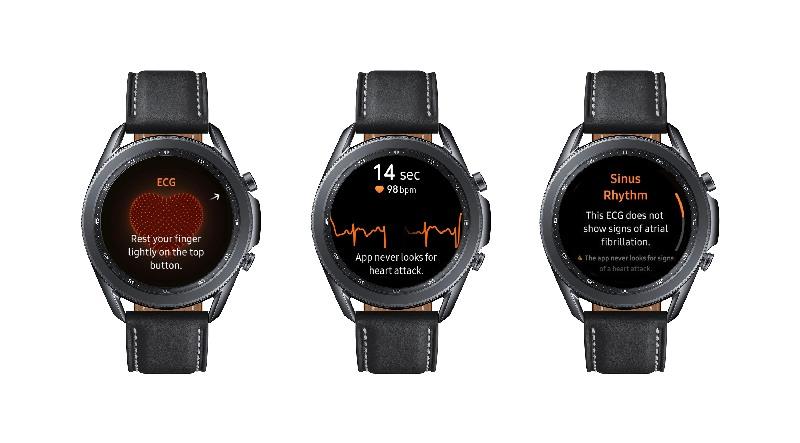 Blood Pressure Tracker dan Elektrokardiogram Hadir di Galaxy Watch3 dan Watch Active2