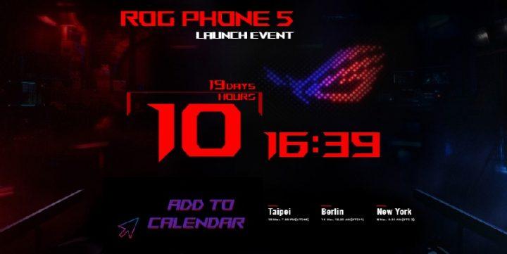 Tanggal Rilis ROG Phone 5