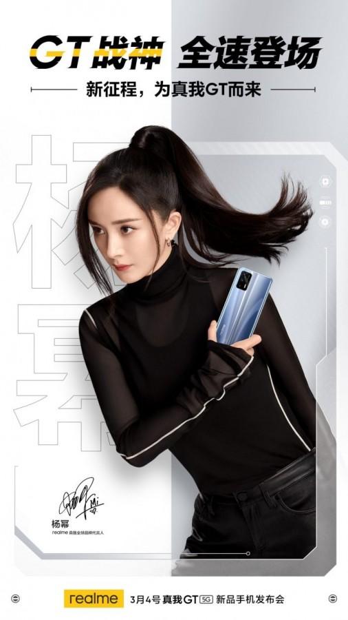 realme GT poster