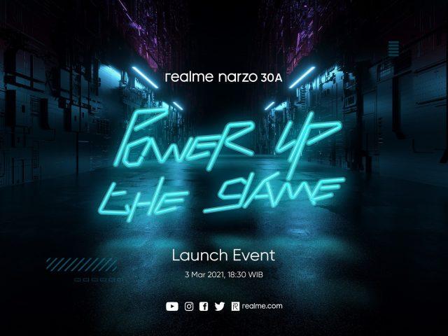 realme narzo 30A launch date