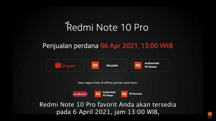 Harga Redmi Note 10 Series 3
