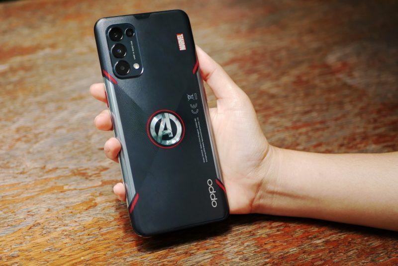 Oppo Reno5 Marvel Avengers