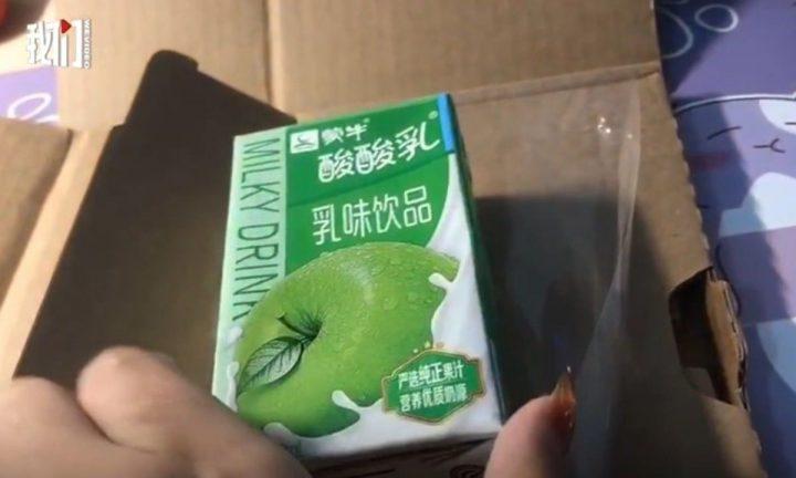 Apple Yogurt Drink