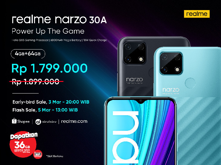 realme narzo 30A Price Announcement