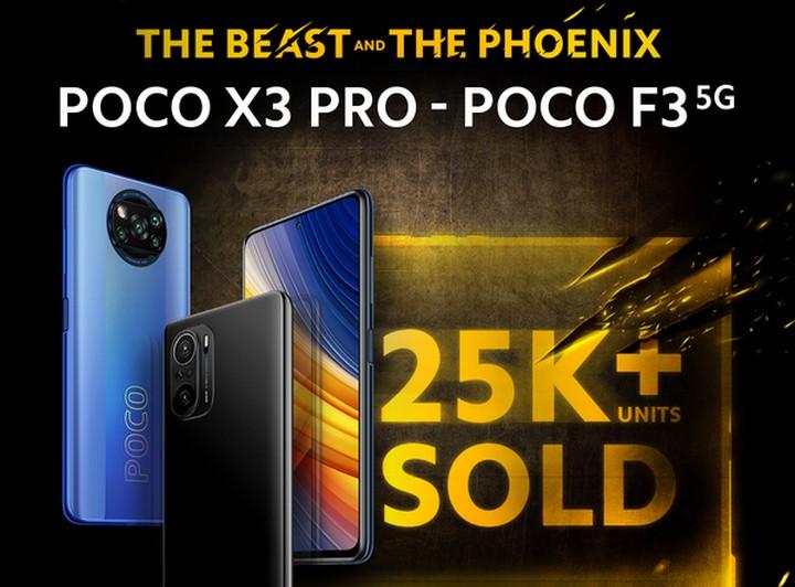 Poco X3 Pro F3 Terjual