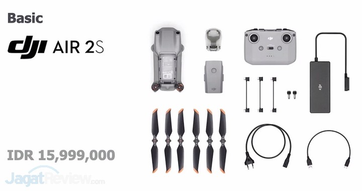 Harga dan Spesifikasi DJI Air 2S