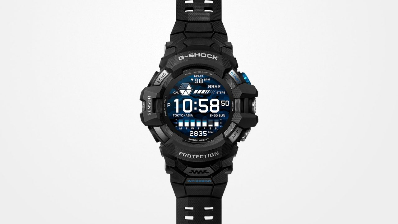 Smartwatch G-Shock GSW H1000