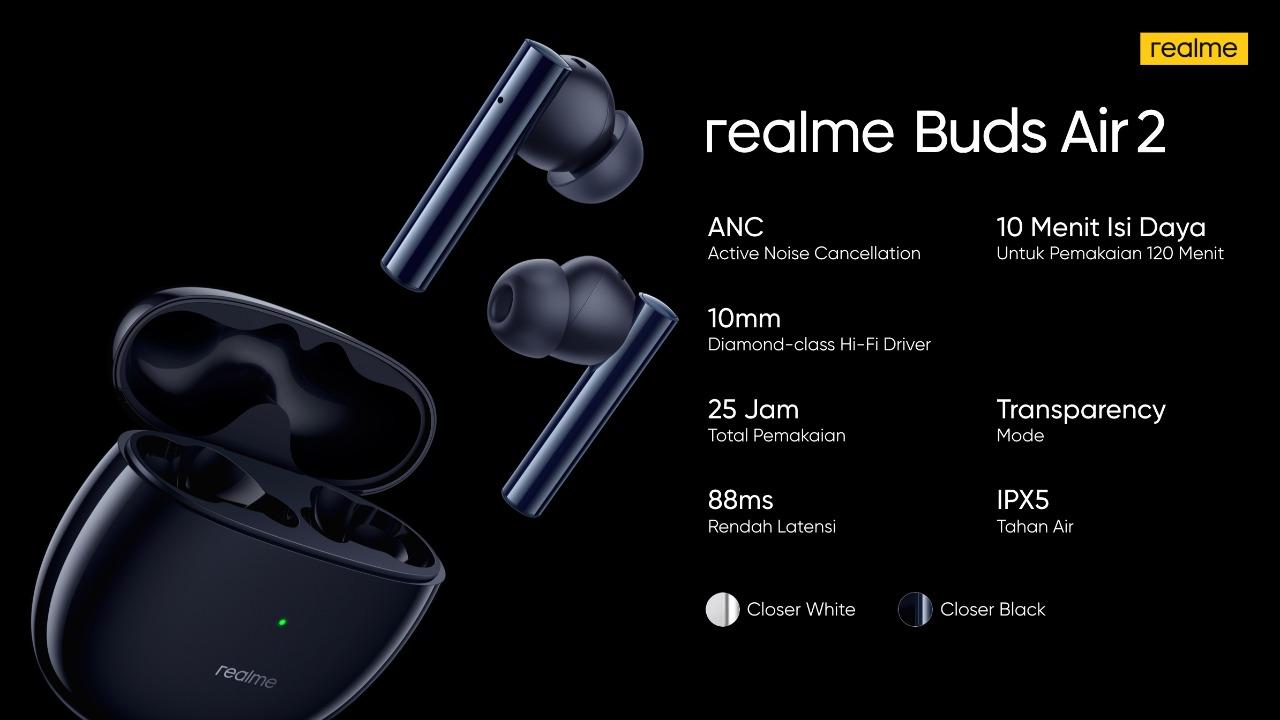 realme buds air 2 3