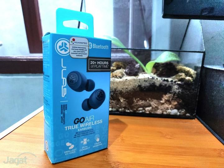 Review JLab Go Air True Wireless Earbuds