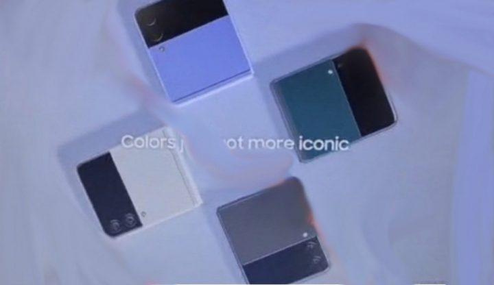 Galaxy Z Flip3 promo