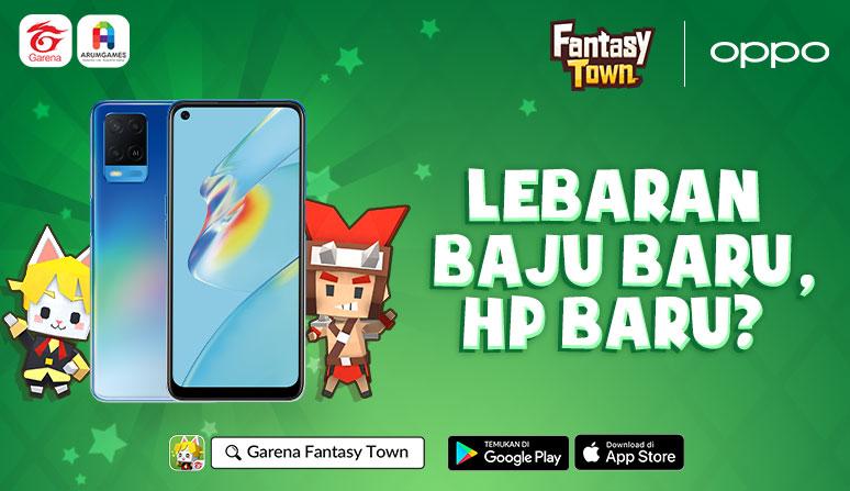 main Fantasy Town Berhadiah Oppo A54