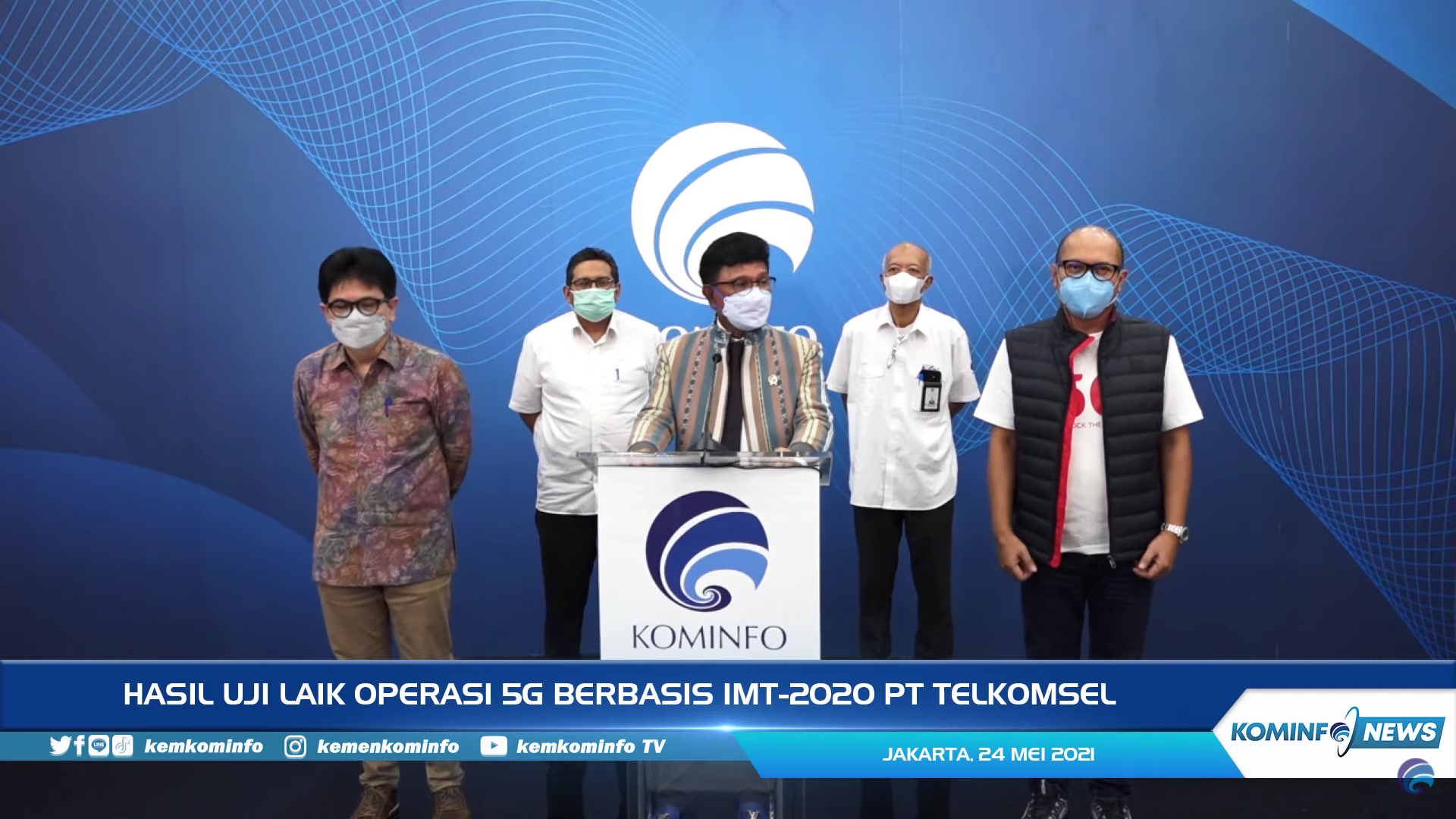Telkomsel 5G pertama di Indonesia