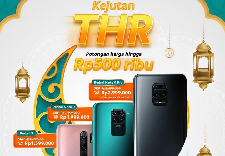 Smartphone Xiaomi Turun Harga Ramadhan