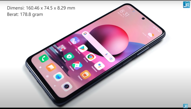 Review Redmi Note 10s