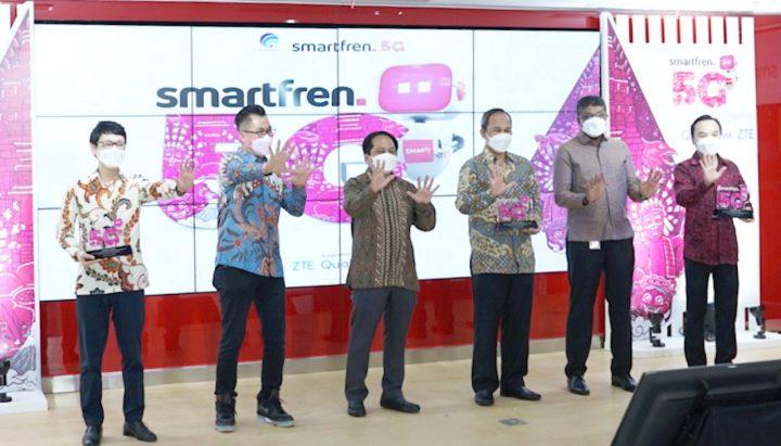 Smartfren Uji Coba 5G Kominfo
