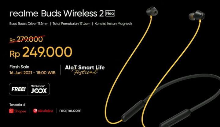 realme Buds Wireless Neo