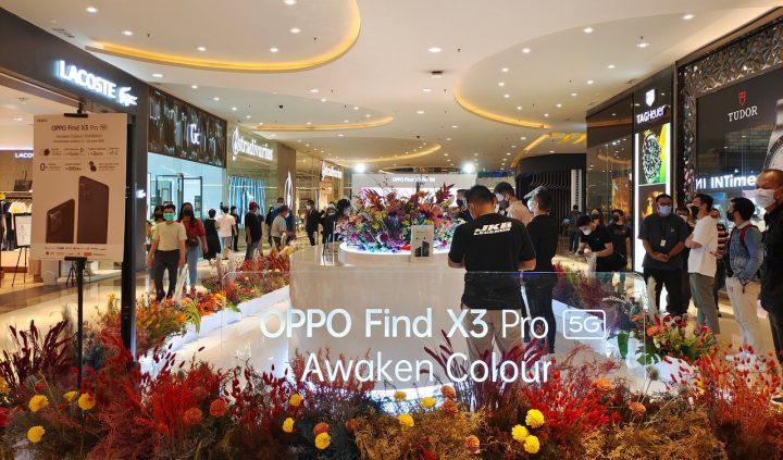 Oppo Find X3 Pro penjualan perdana