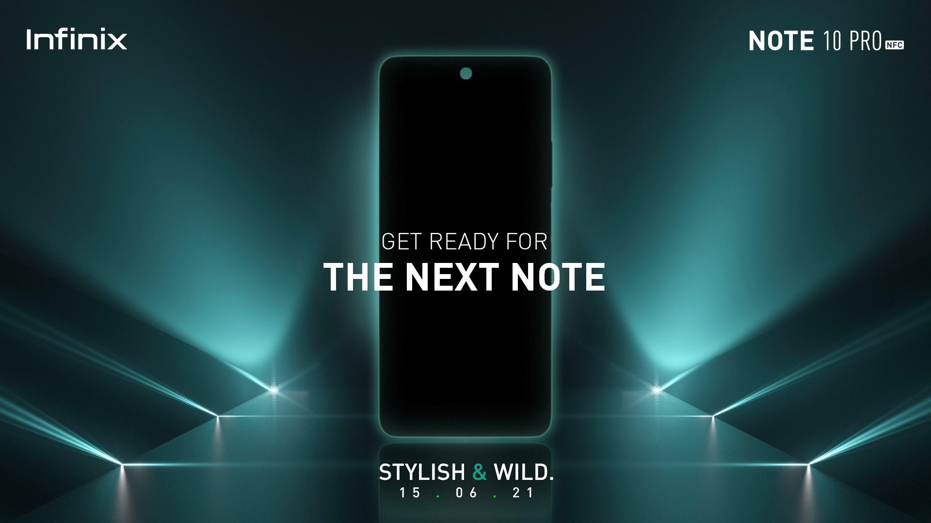Infinix Note 10 series Launch