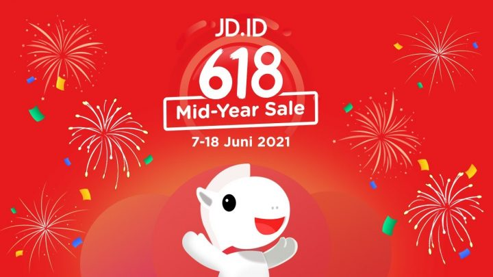 MId year Sale 618 Shopping Festival JD.ID
