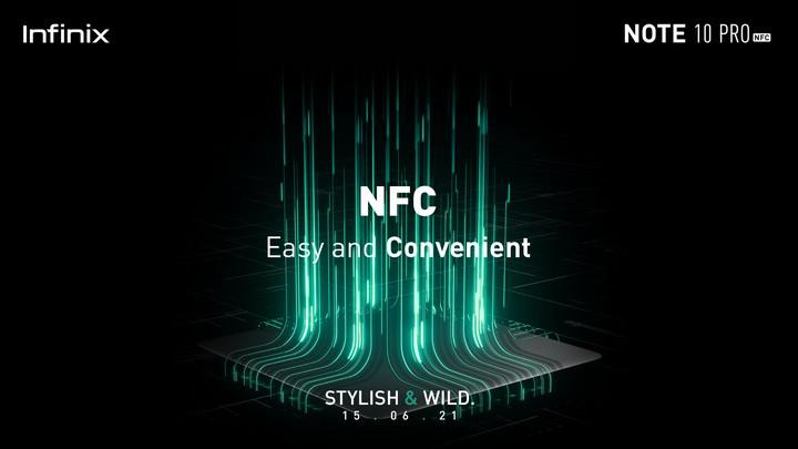 Infinix Note 10 Series NFC