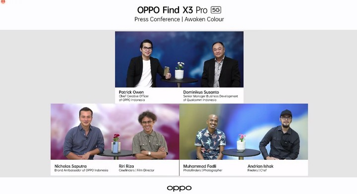Oppo Find X3 Pro Launch