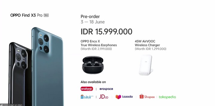 Harga Oppo Find X3 Pro Indonesia