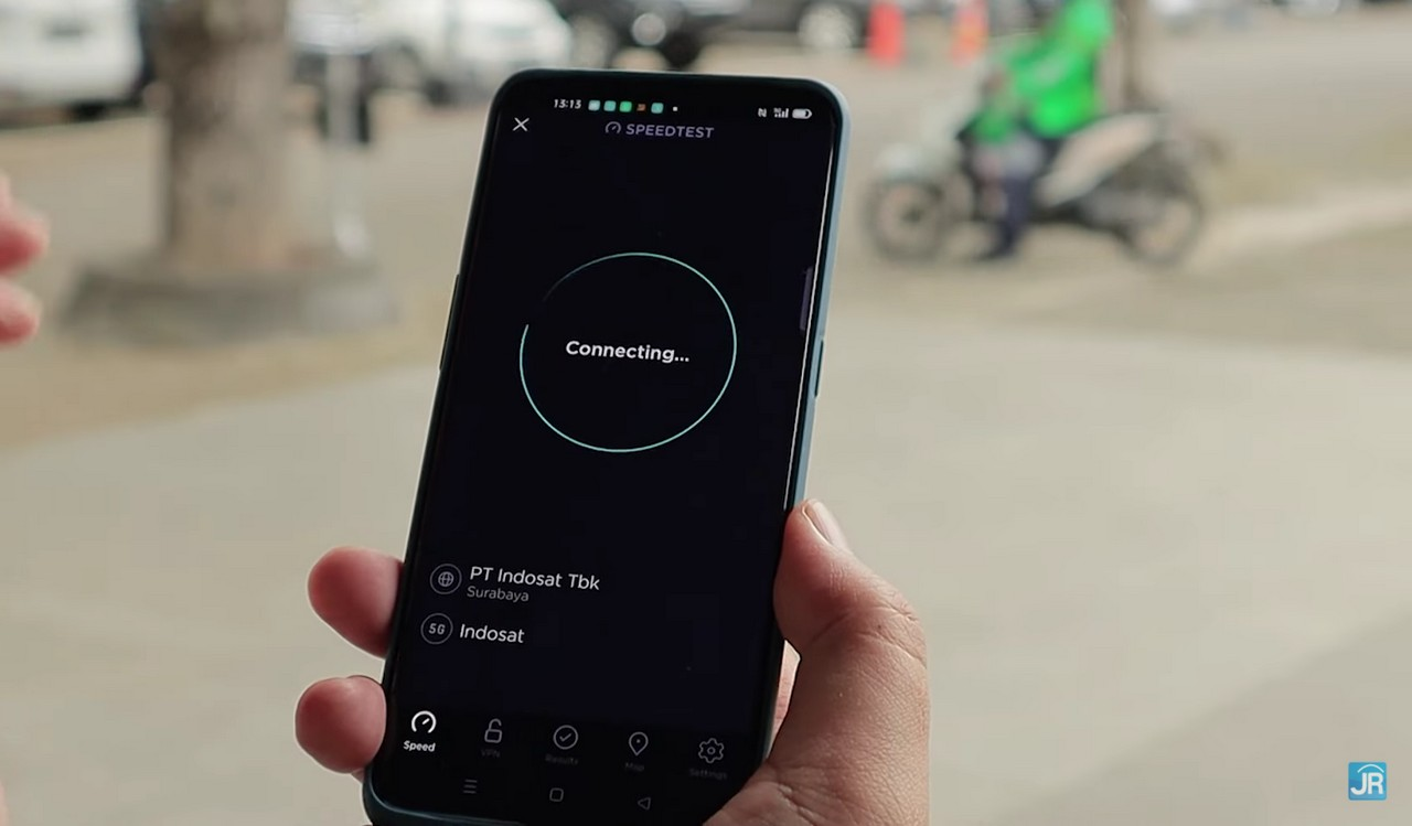 Uji Jaringan 5G Indosat Ooredoo