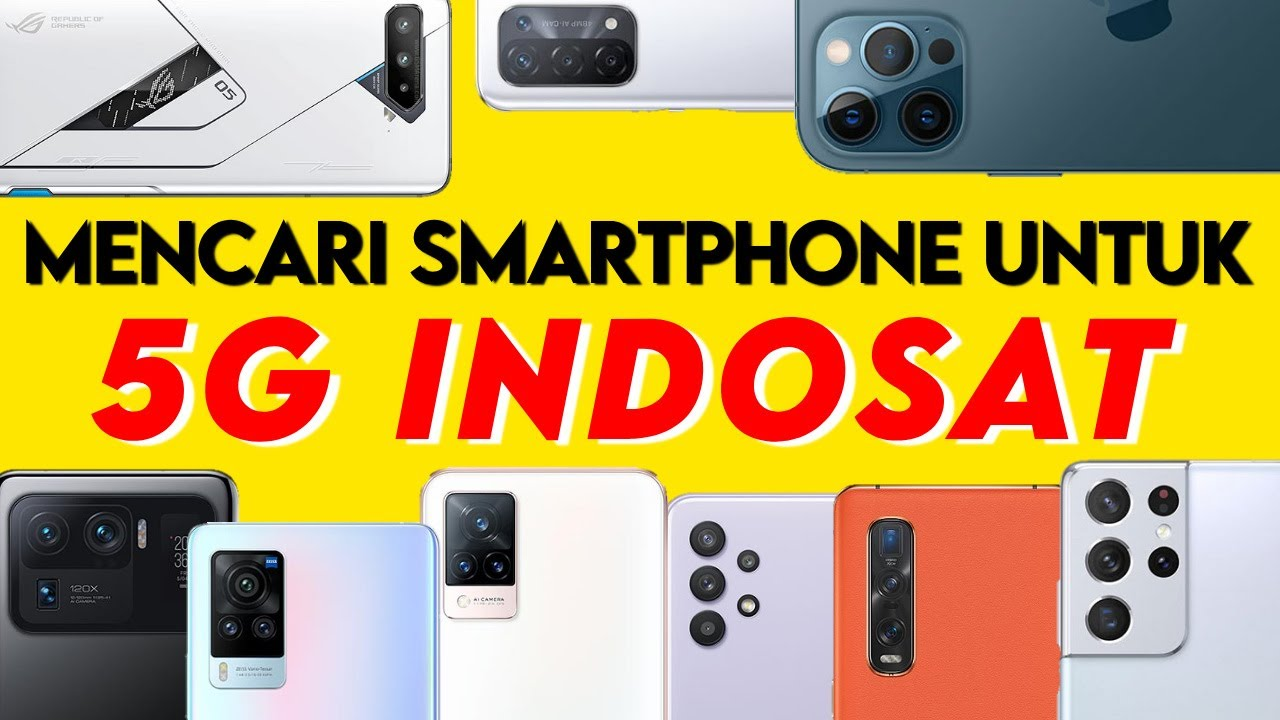 Smartphone 5G Indosat
