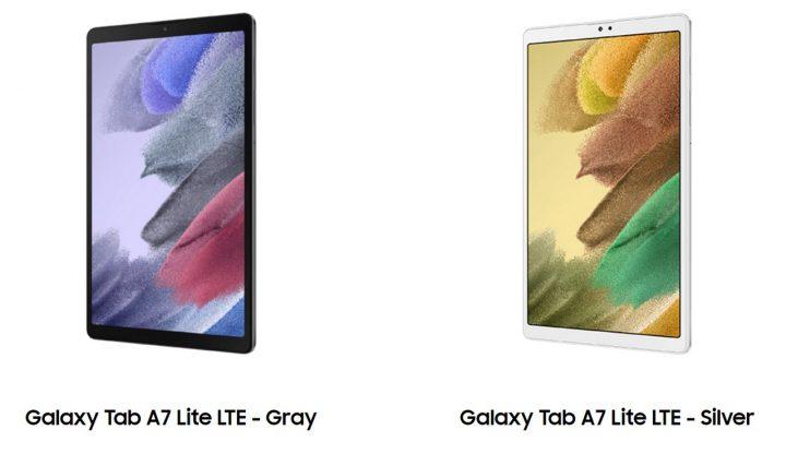 Review Galaxy Tab A7 Lite Warna